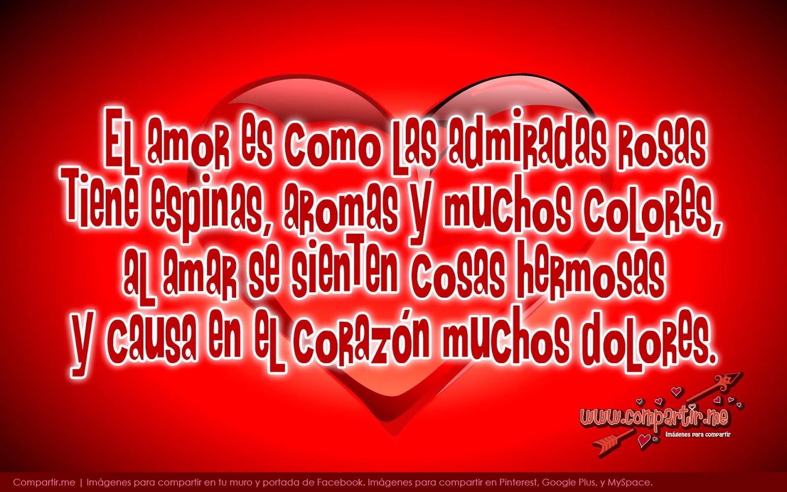 Frases De Amor Es Con Corazon