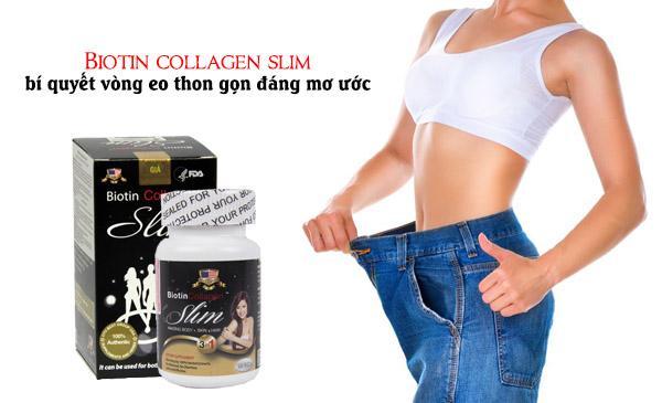 Giảm cân an toàn và hiệu quả nhờ Biotin Collagen Slim