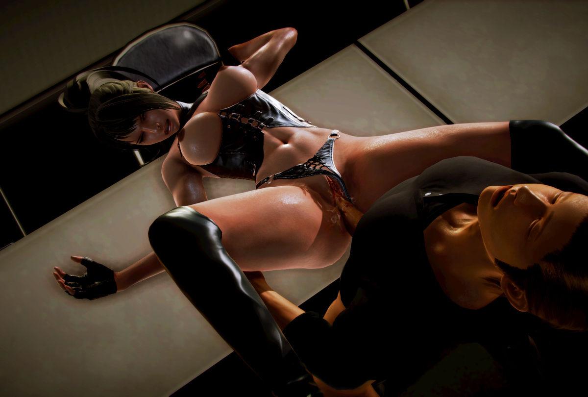 Hình ảnh 027 in Truyện Hentai 3D Nữ chiến binh Ryona