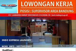 Rekrutmen Indo Laundry Minimal SMK Untuk Posisi Supervisor Area Bandung