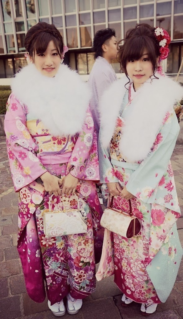 Seijin-no-hi (Coming of Age Day), kimono fashion