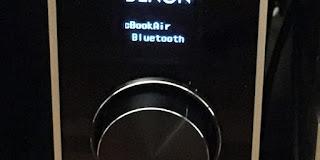 PMA−60 Bluetooth 接続表示