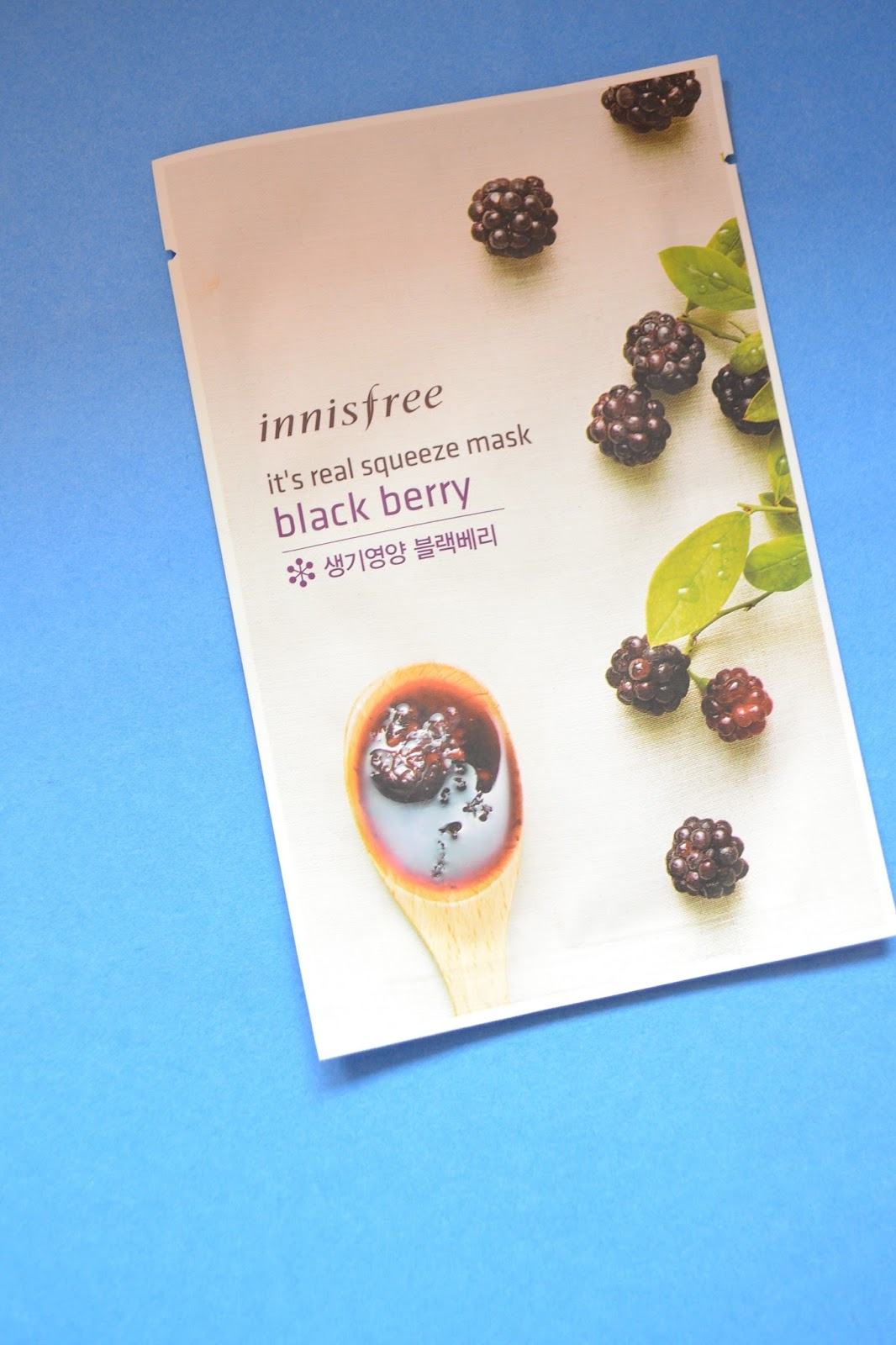 Compact Matters Innisfree Its Real Squeeze Mask Review Black Berry Blackberry Helps Rejuvenate The Skin Since It Has A Lot Of Anti Oxidants