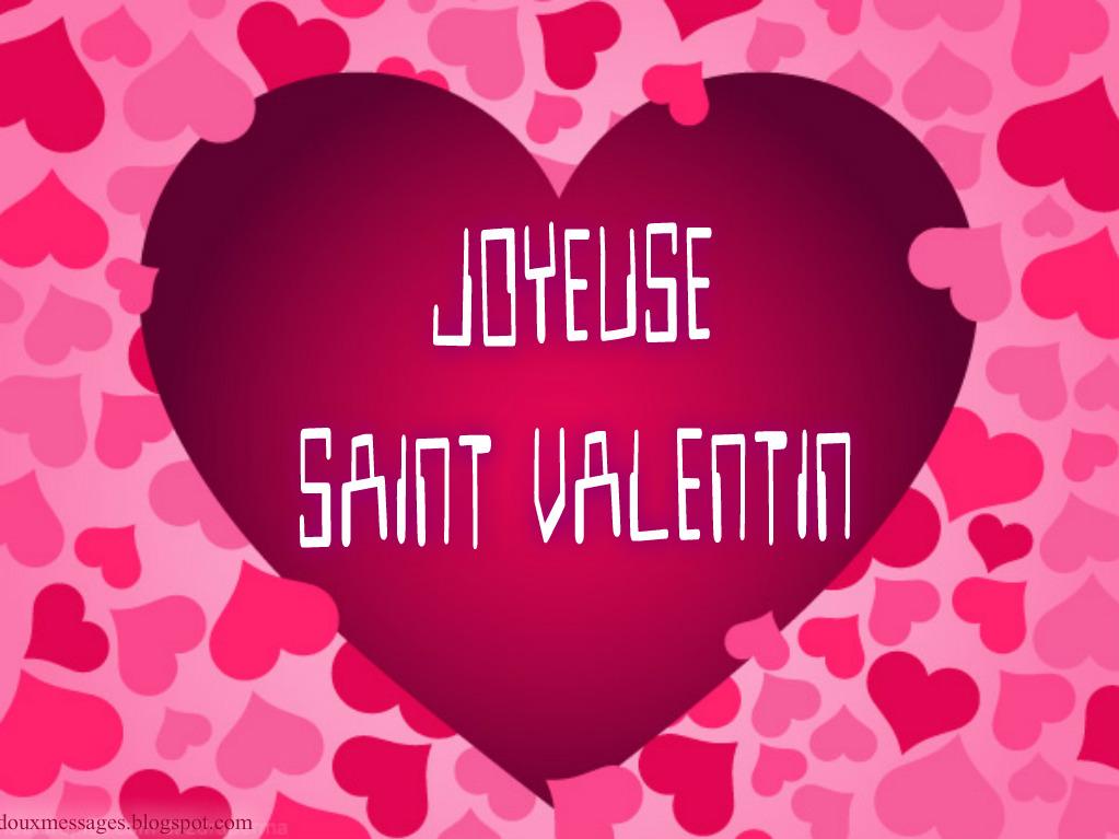 Joyeuse saint valentin images messages doux - Image st valentin coeur ...