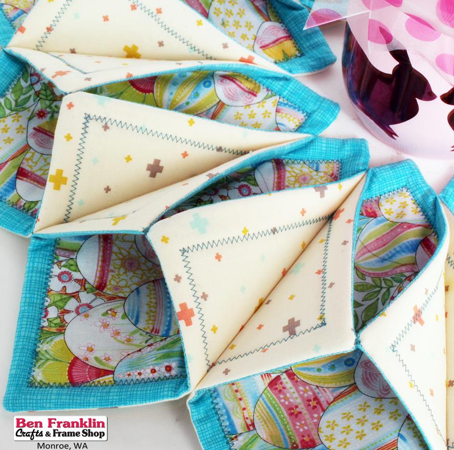 Ben Franklin Crafts And Frame Shop Monroe WA Make Beautiful Table Mesmerizing Fold And Stitch Wreath Pattern