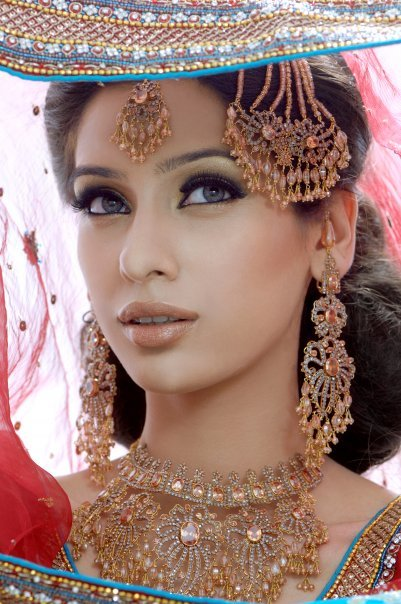 pakistani bridal jewellery |Bridal Makeup