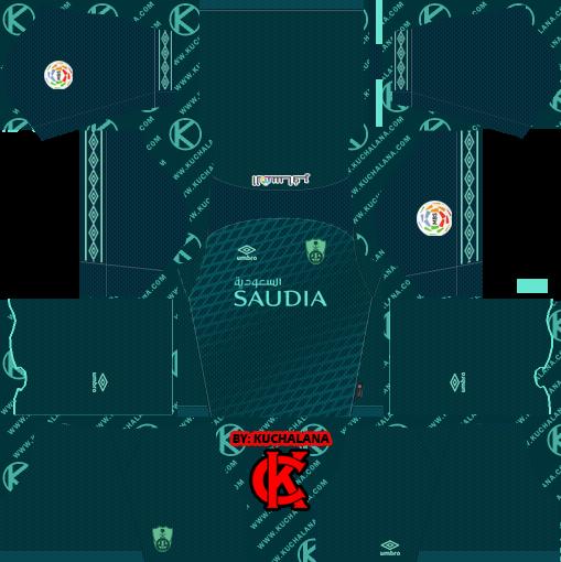 541b3d85b12 Al-Ahli Saudi FC 2019 Kit - Dream League Soccer Kits - Kuchalana