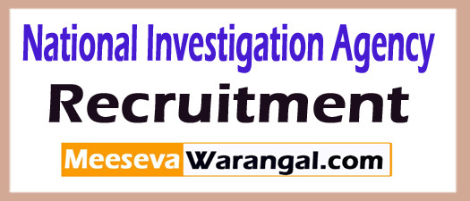 National Investigation Agency NIA Recruitment
