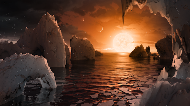 NASA anuncia descoberta de três exoplanetas que podem abrigar vida