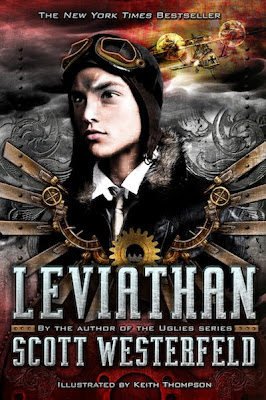 """News: Divulgada a capa de """"Leviata"""", do autor Scott Westerfeld. 19"""