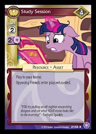 My Little Pony Study Session The Crystal Games CCG Card