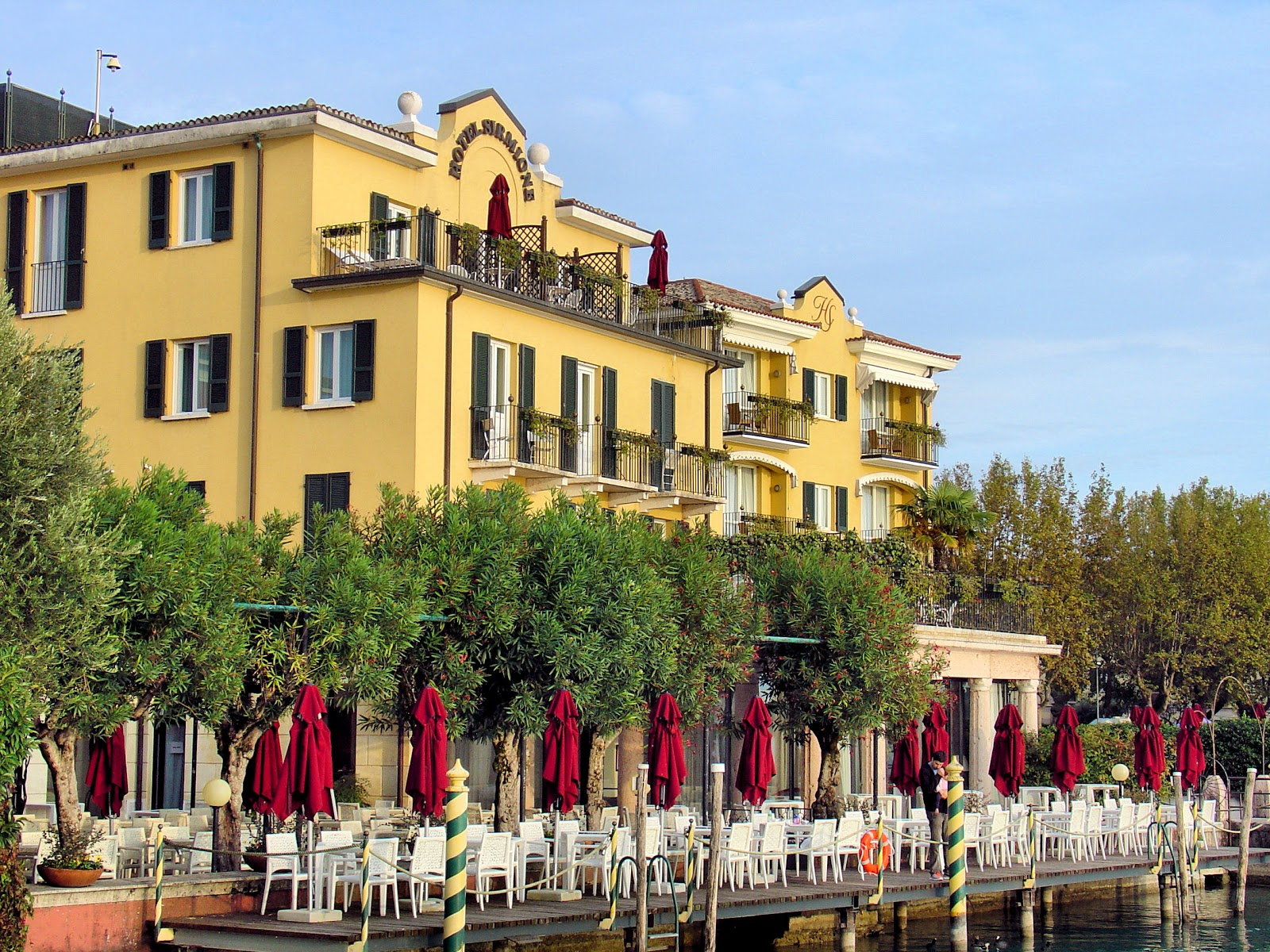 Scenes of Sirmione along the shores of Lake Garda.