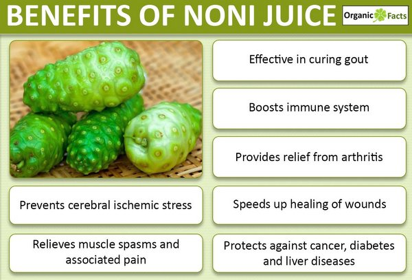 5 Benefits Of Noni Juice For Diabetes