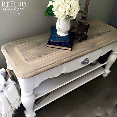 French Country Coffee Table Tutorial