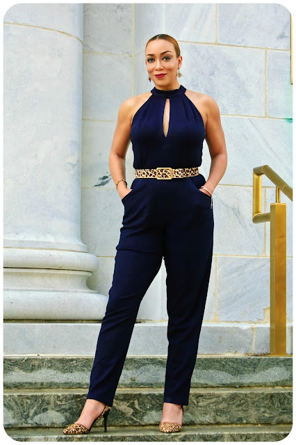 McCall's 7366 | Plunging-Neckline Jumpsuit -- Erica Bunker DIY Style!
