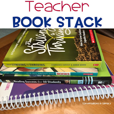 Teacher Book Stack Must Read Books for Teachers