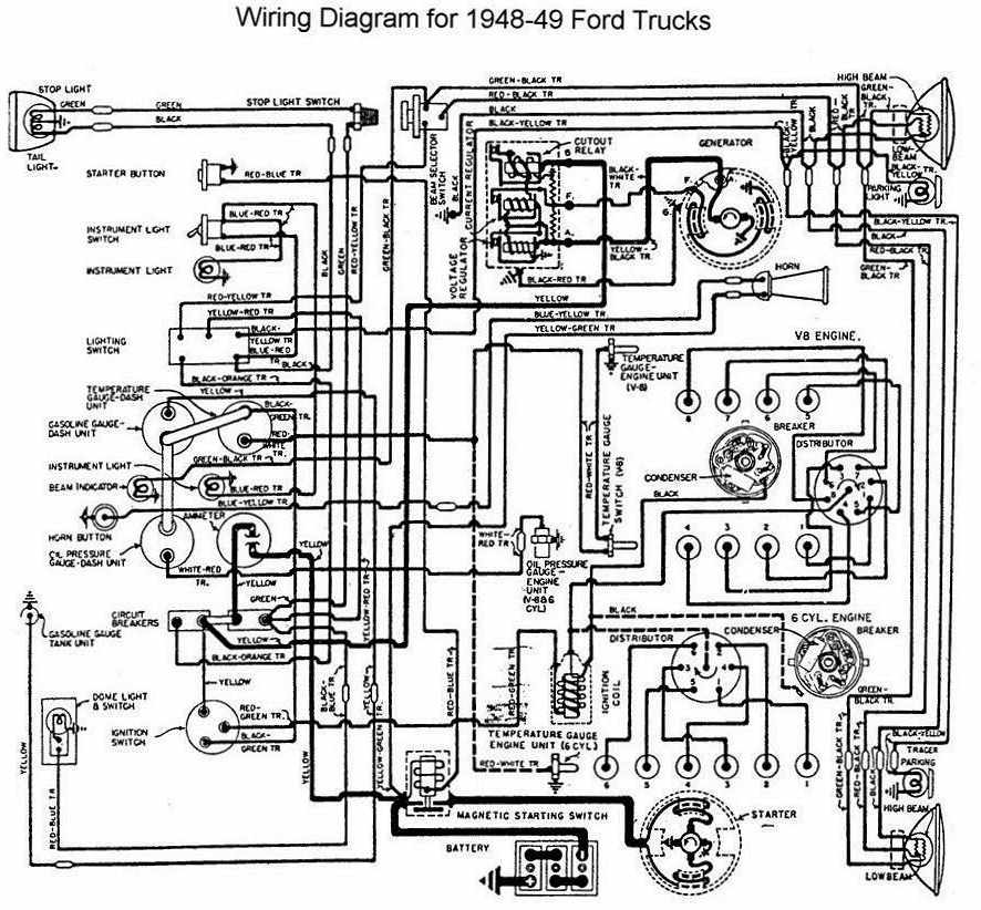 1955 Ford Wiring Diagram