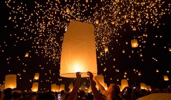 Event Dieng Culture Festival Lampion