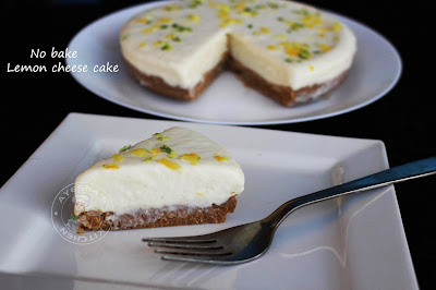 lemon flavored dessert cakes ayeshas kitchen recipes yummy quick dessert no bake cheese cake recipe lemon cake healthy dessert  lemon recipes pie