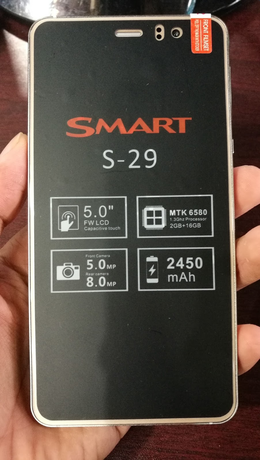 Picture of SMART S-29 5.1 MP.V1.0  Frimware