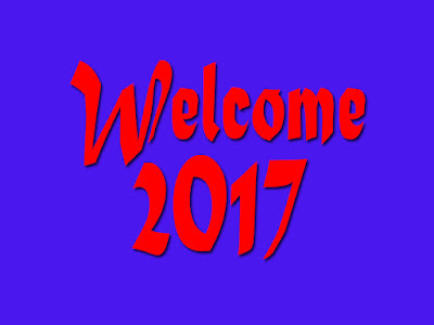 Welcome 2017 HD Wallpaper