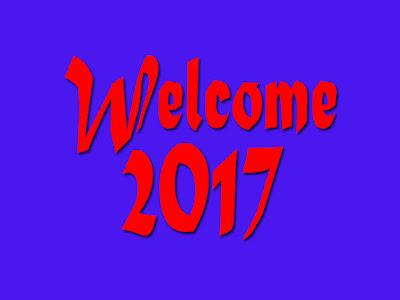 Welcome 2017 HD Wallpaper