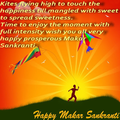Makar Sankranti Greetings in English