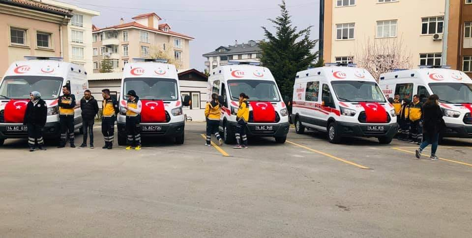Mudurnu'ya 4×4 Ambulans