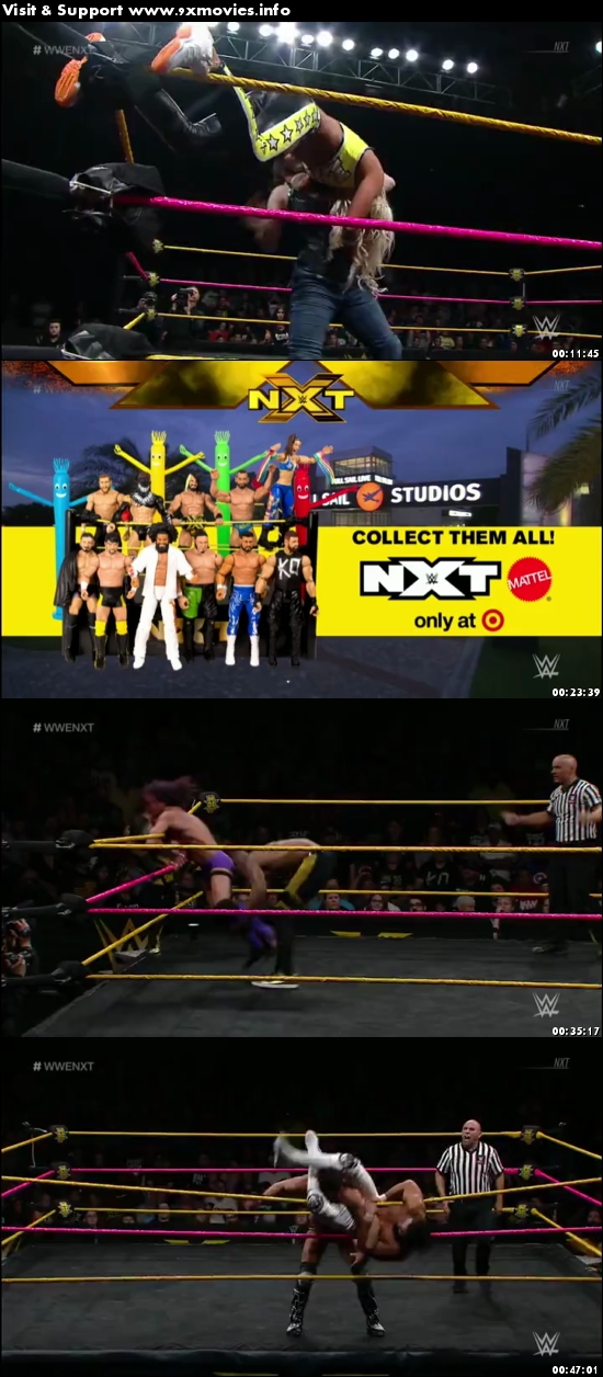 WWE NXT 11 October 2017 WEBRip 480p 200mb