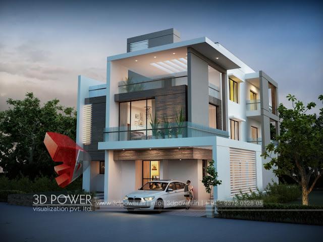 3d Contemporary House Plans