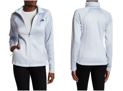 The North Face Artic Ice Agave Zip Jacket $60 (reg $99)