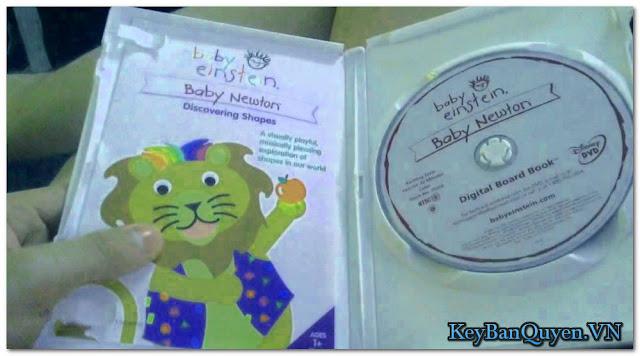 26 DVD MKV Baby Einstein - Dành cho sự phát triển trí tuệ của em bé .