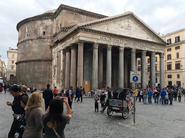 3 days in Rome - Piazza della Rotonda