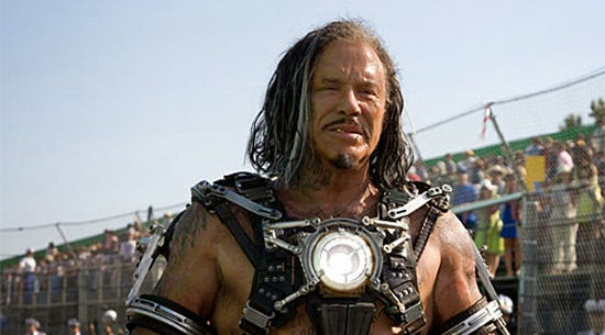 Iron Man 2: Mickey Rourke - Ivan Vanko | A Constantly Racing Mind