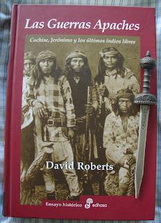Portada del libro Las guerras apaches, de David Roberts