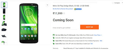 Moto G6, Moto G6 Play Buy, Next Online Sale,Price, Specification, Review, Features