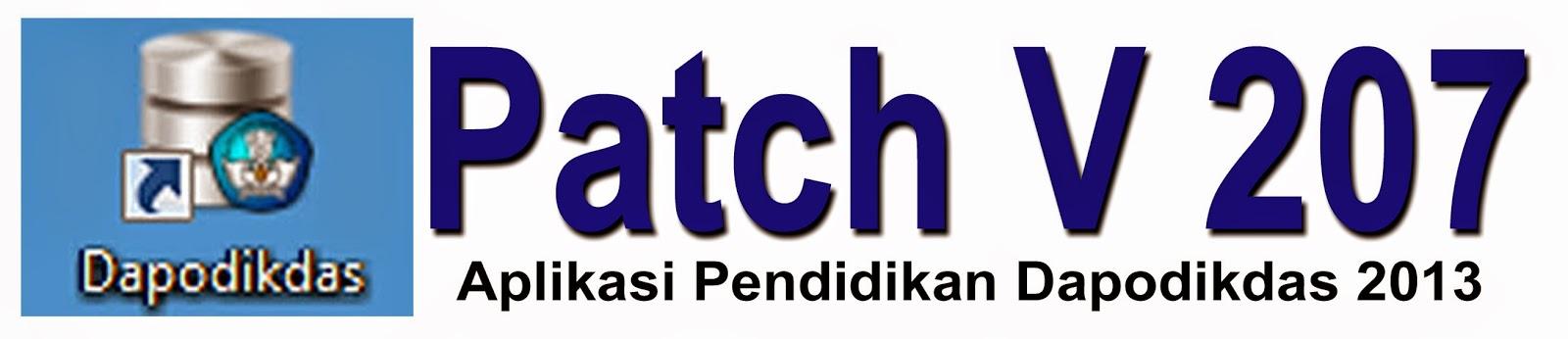 dapodik helper untuk patch 207