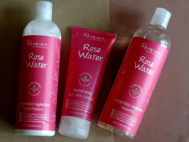 Renpure Rose Water Weightless Hydration Haircare