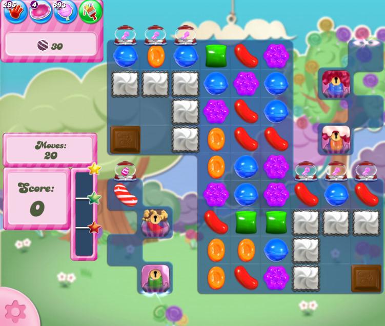 Candy Crush Saga level 2814