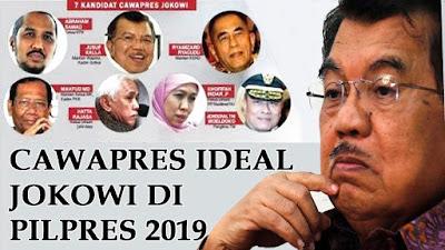 Inikah Sosok Cawapres Jokowi pada Pilpres 2019?