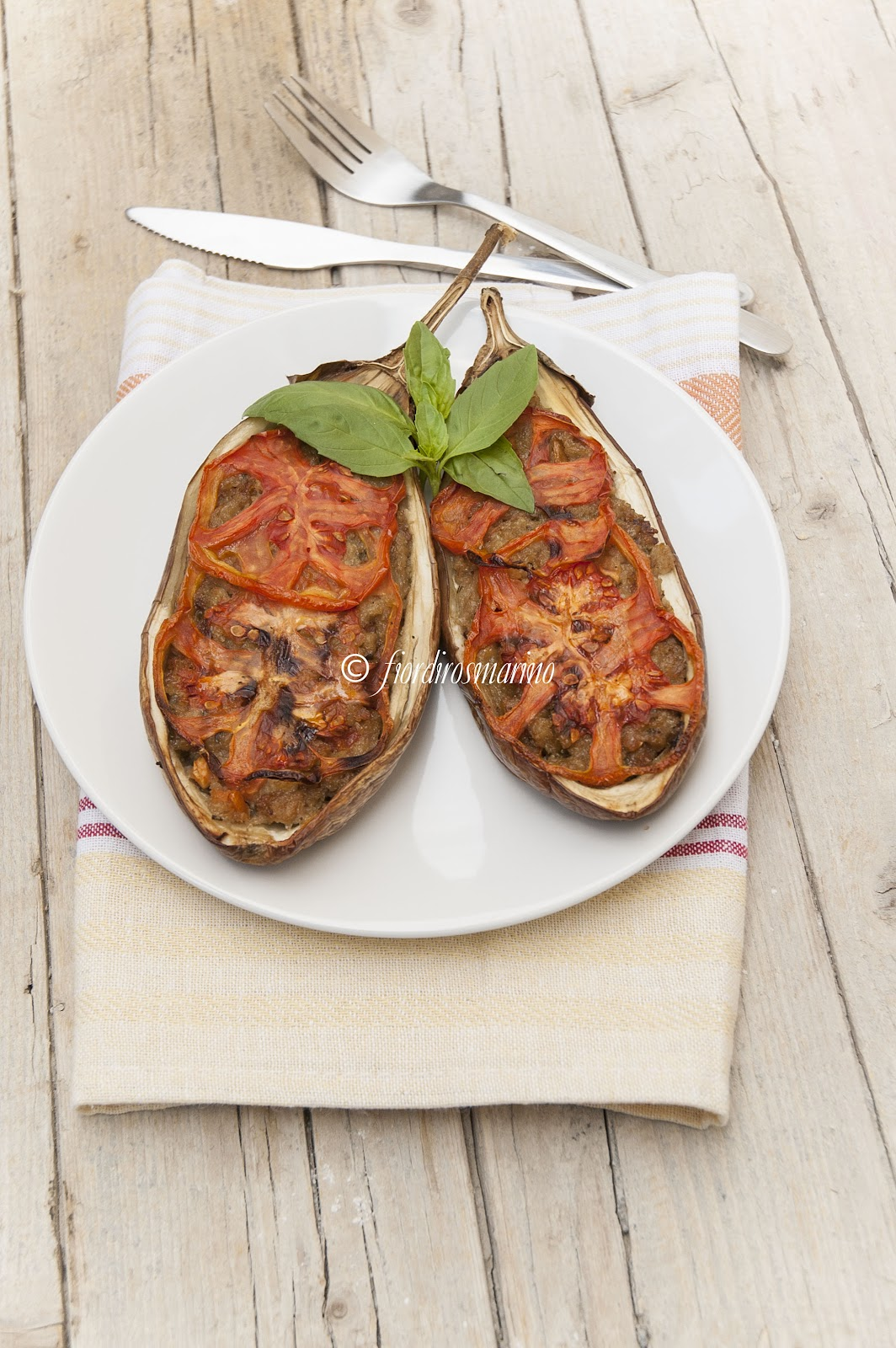 Molto Melanzane striate ripiene - Cucina Italiana Blog by Fiordirosmarino YC74