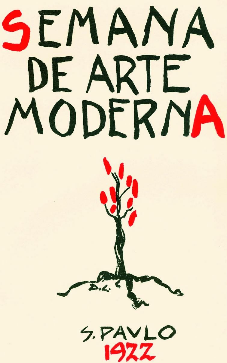 Pinturas apresentadas na Semana de Arte Moderna de 1922
