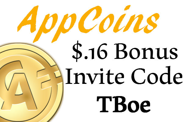 AppCoins Invite Code 2021: $.16 Sign up Bonus AppCoins App