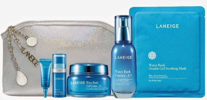 Laneige Sparkling Hydration Essentials, Gift Set, Laneige 2014 Holiday Collection, Laneige, Holiday Set, Christmas Set, Skincare, Makeup, Beauty