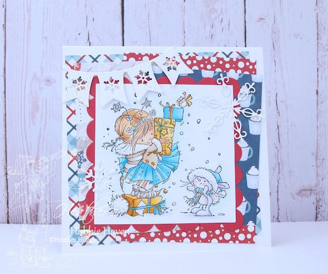 Heather's Hobbie Haven - Christmas Friends Card Kit
