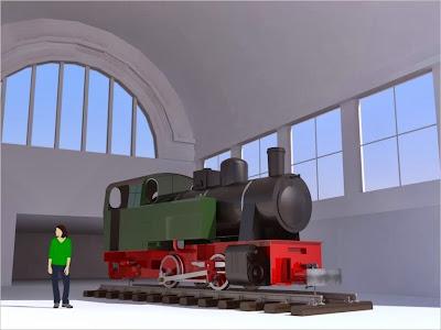 Bahnhofshalle Witten (Animation)