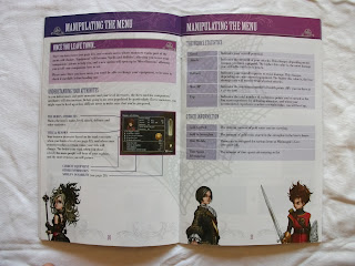 Dragon Quest Swords - The Masked Queen and the Tower of Mirrors - Manual interior