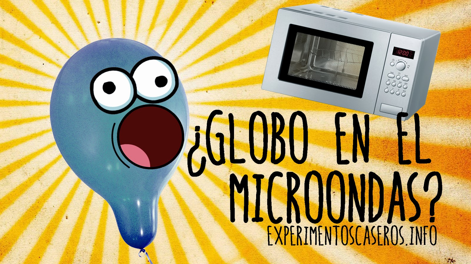 Cómo inflar un globo con un microondas, experimentos caseros para niños, globo, microondas, globo en el microondas, experimentos, experimento, ciencia, ciencia en casa, experimentos de ciencia, experimentos de física, experimentos para niños, experimentos caseros, experimento casero, experimentos sencillos, feria de ciencias, experimento para la feria de ciencias, ciencia casera, explicación científica