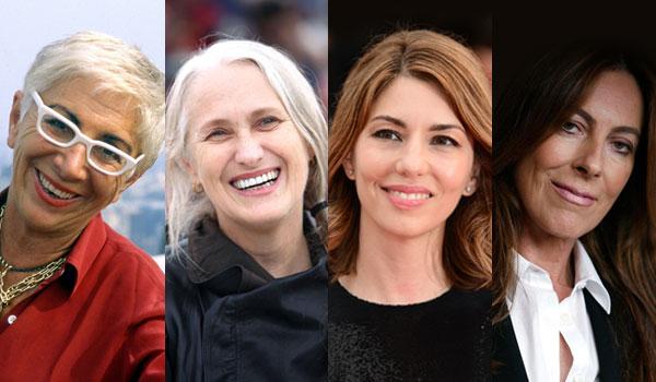 Lina Wertmüller, Jane Campion, Sofia Coppola e Kathryn Bigelow