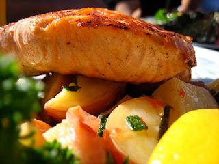 ácido graso, omega 3, salmón